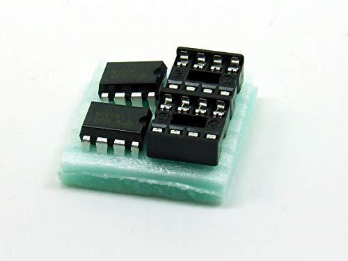 POPESQ® 2 Stk. x LTV827 Optokoppler mit Sockel DIP8#A2988