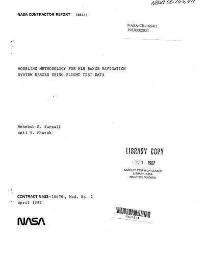 Modeling methodology for MLS range navigation system errors using flight test data (English Edition)