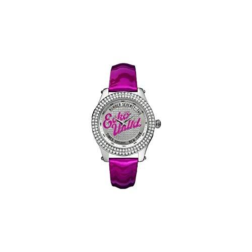 Marc Ecko Reloj Análogo clásico para Mujer de Cuarzo con Correa en Cuero E10038M5