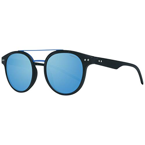 Polaroid PLD 6031/S 5X Gafas de Sol, Negro (Matt Black Grey Speckled Blue Pz), 49 Unisex-Adulto