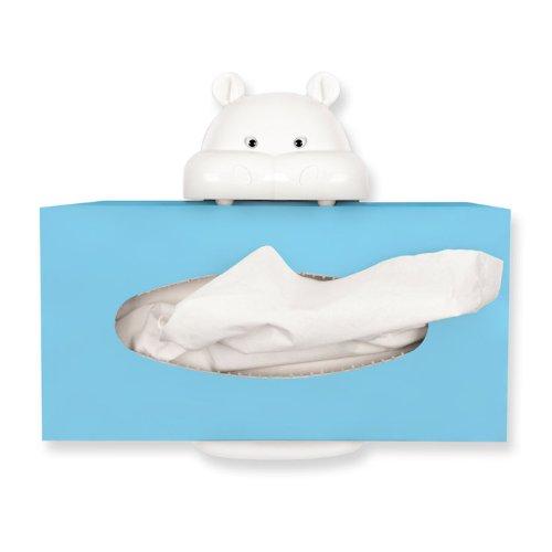 Balvi 25215 - Soporte para caja de pañuelos de papel, montaje fácil con ventosas