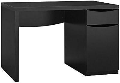 Amazon ikea micke desk black brown kitchen dining