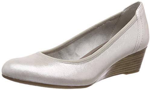 Tamaris Damen 1-1-22320-22 941 Pumps, Silber (Silver 941), 36 EU