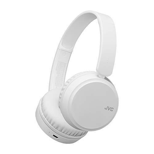 JVC HA-S35BT - Auriculares (Inalámbrico, Diadema, Binaural, Supraaural, 20-20000 Hz, Blanco)