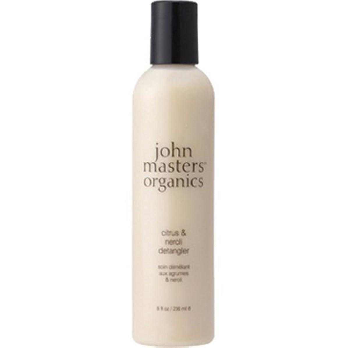 民間人幾分ピービッシュJohn Masters Organics(ジョンマスターオーガニック) C&Nデタングラー(シトラス&ネロリ) 236ml(並行輸入品)
