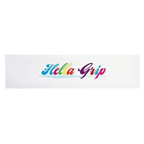 Hella - Cinta de agarre para patinete con logotipo clásico arcoíris y pegatina Fantic26