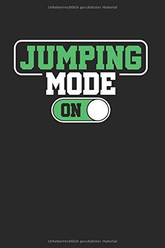 Jumping Mode On: Trampolin & Turnen Notizbuch 6'x9' Springer Geschenk Für Hüpfen & Gymnastik