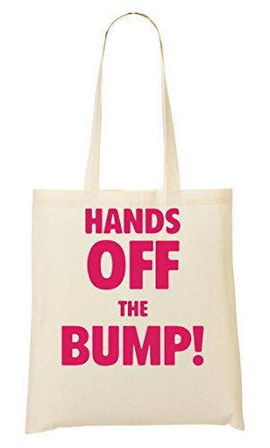 C+P Hands Off The Bump Tragetasche Einkaufstasche