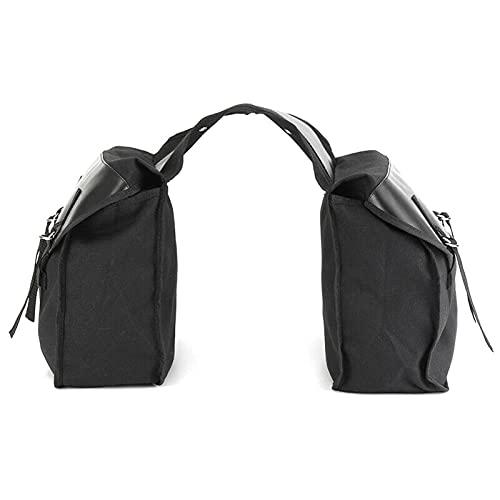 Motocicleta Sillín Bolsas Doble Equipaje Bolsa de Viaje Impermeable Moto Maleta Maleta Impermeable Rack Bag Packing Packing (Color Name : QM190123 01)