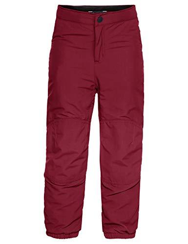 VAUDE Kinder Kids Caprea Warmlined Pants II Hose, Salsa, 110/116