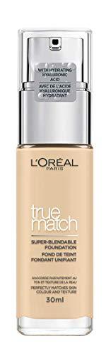 L'oreal nouvelle fondation True Match - 1.D / 1.W Ivoire Dore 30 ml
