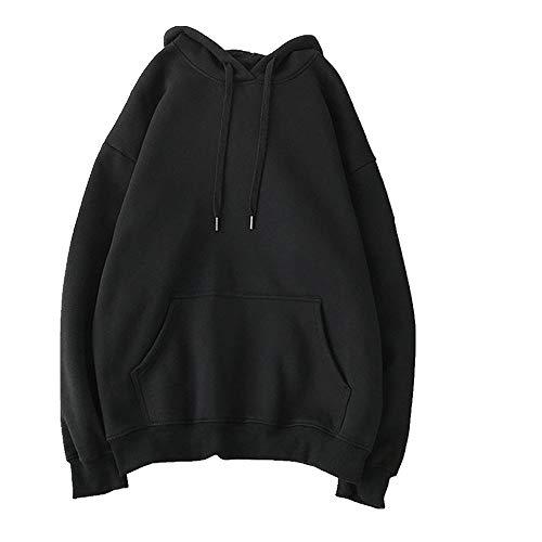 De gran tamaño de la ropa Sudaderas de las Mujeres Rosa Sudaderas con capucha Caliente de las Señoras de Manga Larga Casual Sudadera con Capucha