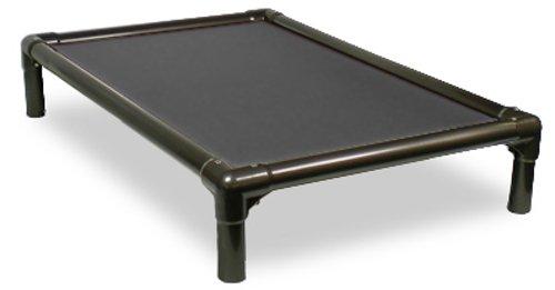 Kuranda Walnut PVC Chewproof Dog Bed - Mini (25x18) - Cordura - Smoke