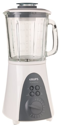 Krups 344-11 Power XL6 Touchpad Blender, White, DISCONTINUED