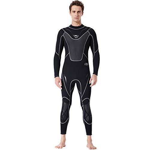 Battnot Neoprenanzug Herren Lange Badeanzug Jumpsuit, Männer Warme Halten Schwimmen Surfen und Schnorcheln Tauchen Overall Schwimmanzug Wetsuit Surfanzug Kompression Laufen Fahrradfahren Skinsuit