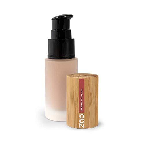 ZAO Liquid Silk 704 beige neutral Flüssig-Makeup Grundierung Foundation mit Bambus