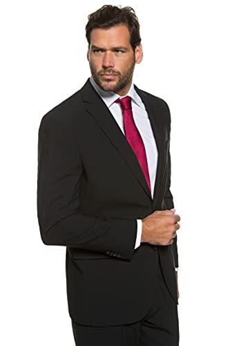 JP 1880 Herren große Größen Übergrößen Menswear L-8XL Anzug-Jacke, Baukasten-Sakko Zeus, FLEXNAMIC®, Schnurwoll-Qualität schwarz 70 705512 10-70