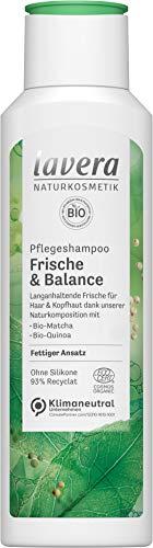 lavera 110407 Pflegeshampoo Frische & Balance, 250 ml