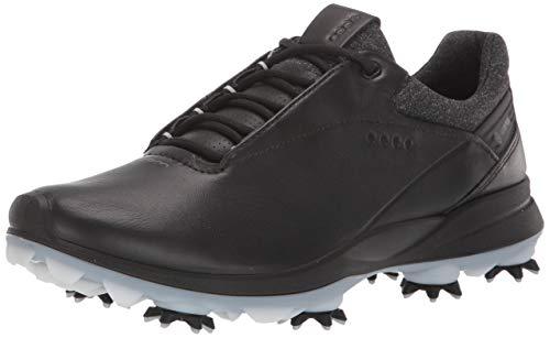 ECCO Women's Biom G3 Gore-TEX Golf Shoe, Black, 38 M EU (7-7.5 US)