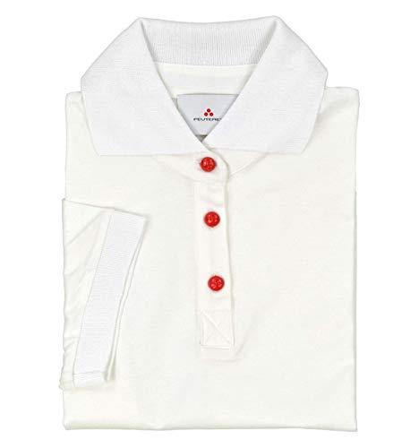 Peuterey - Donna Elf 700 Maglia T-Shirt Polo Bianco - 31006-44