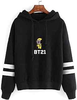 BTS Hoodies men and women KPop BTS bulletproof Youth League bt21 Autumn cotton Hooded Sweatshirt Winter Hip Hop Letter Printing Outwear