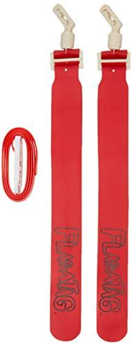 Flag-A-Tag Sonic Boom - Cinturón de bandera (12 unidades), Unisex, 8675223, Escarlata., 52-inch