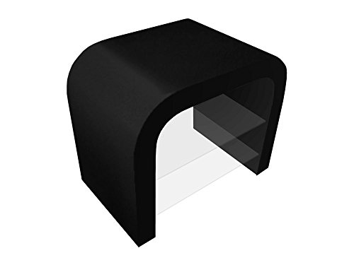 Design Retro Petite Unité de Support de Noir Brillant en Différentes Couleurs