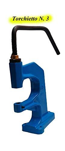 Metalen klemapparaat Misura 3 Blauw