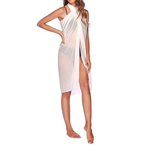 TLM Toys Vestido de playa para mujer, falda de playa, vestido de verano, vestido de gasa, vestido de playa, vestido de verano, vestido largo para la playa