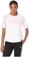 Adidas Camiseta de Fútbol con Logotipo de Béisbol para Mujer