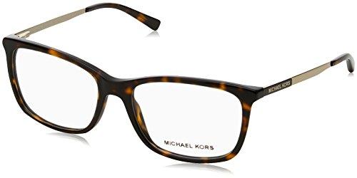Michael Kors VIVIANNA II MK4030 Eyeglass Frames 3106-54 - Dk Tortoise/gold MK4030-3106-54