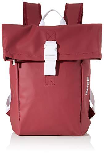 BREE Unisex-Erwachsene Punch 92, Backpack S W19 Rucksack, Rot (Rhododendron), 12x42x36 cm