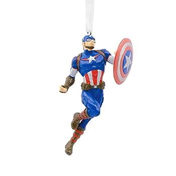 Hallmark Christmas Ornaments Marvel Avengers Captain America Ornament