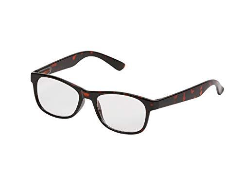 Tristar Products Inc. One Power Readers – die Mehrstärkenbrille, nur eine Brille für alle Sehstärken von + 0,5 bis + 2,5 – das Original aus dem TV – im Schildkrötendesign, rund