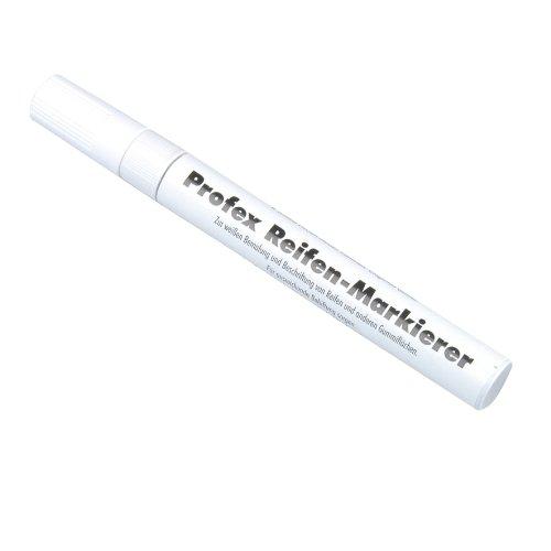 UNITEC 84724 Reifenmarkierstift flüssigweiߟ, wasserfest