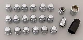 Gorilla Automotive 91733 Acorn Bulge Chrome Lug Nut and Lock System (12mm x 1.50 Thread Size)