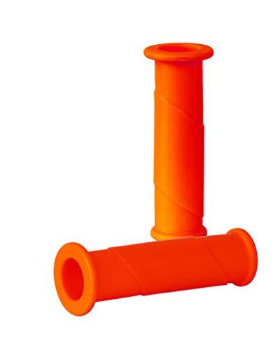 Schubkarren Universal Griffe Rundrohre Karrengriff Schiebkarre Schubkarrengriffe Sackkarre (2, Orange)