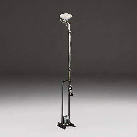 Flos Toio lampada da terra nero Design Castiglioni 1962 luce 1x300W