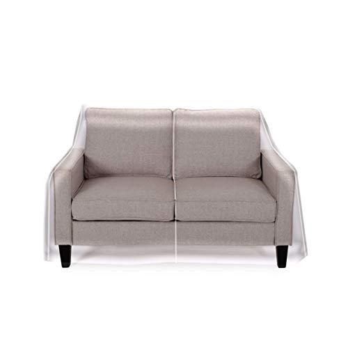 Clear Vinyl Furniture Protector - Loveseat Cover - 84' W x...