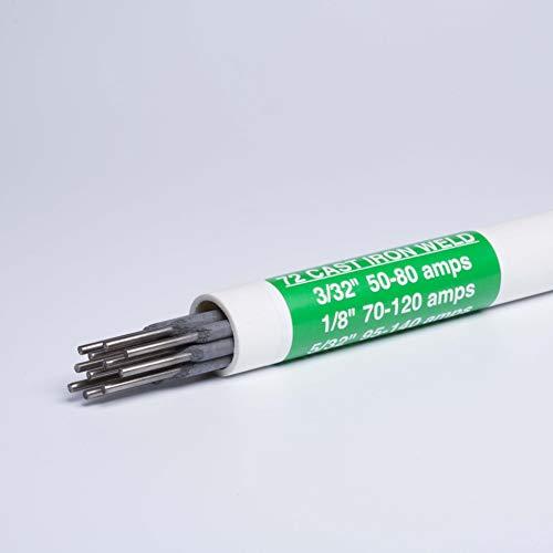 72 Burnt Cast Iron Welding Rod Kit (3/32' diameter)