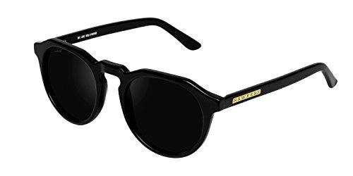 Hawkers Diamond Black Dark Warwick X Occhiali da Sole, Nero (Negro/Negro), 60 Unisex-Adulto