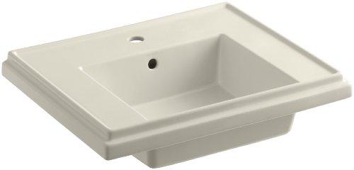 KOHLER Waschbecken Tresham mit Einlochhahn Bohren, K-2757-1-47