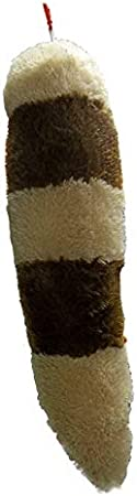 for Boys and Girls Fun for Kids Hanging Option Skunk Tail Plush Black