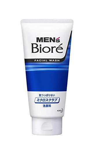 Kao Biore Men's Micro Scrub Face Wash Net Wt.130g