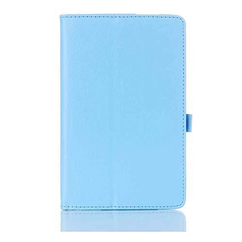 QiuKui Tab Funda para Xiaomi MIPAD 2 MI Pad 2, Case Slim Magnetic Smart Auto Sleep-Wake Up Flip Stand PU Case para Xiaomi MIPAD 2 7.9 '' (Color : Sky Blue)