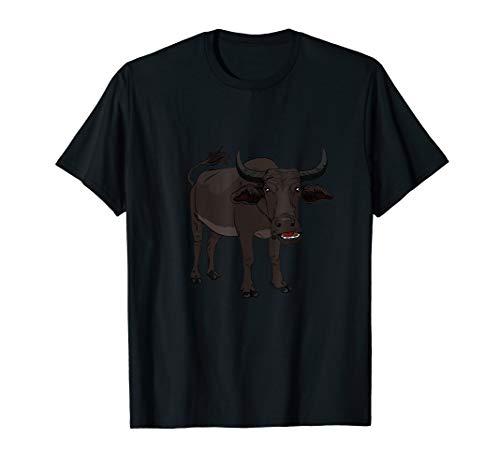 Wasserbüffel Bulle Gesicht Geschenkidee für Büffel & Ochsen T-Shirt