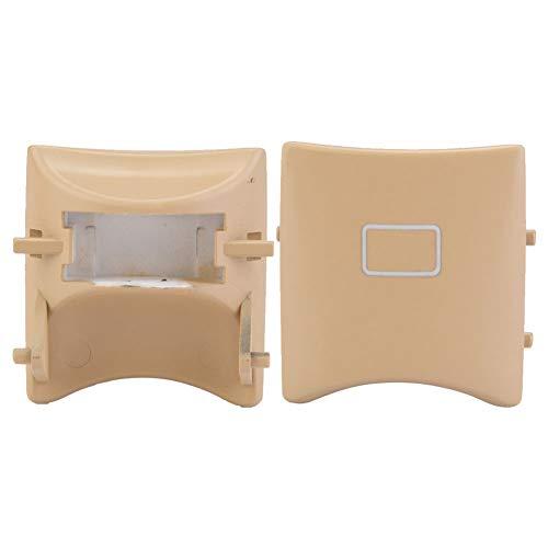 Schiebedach Schalter Sonnenschirm Schalter Knopf für ML W164 W251 X164 16482071858K67 (Beige)