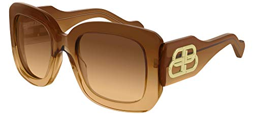 Balenciaga - Occhiali da Sole Sunglasses BB0069S Brown Brown 53/23/135 004 donna