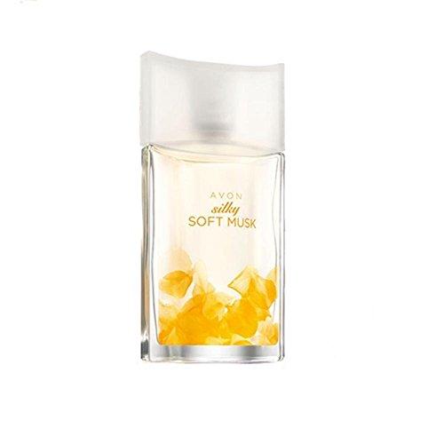 Avon Silky Soft Musk Eau de Toilette Spray dezent blumig/seidig weich Moschus sinnlich/warm