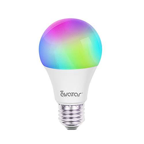 Smart Led Light Bulb Compatible with Google Home,Amazon Alexa ,E27 A19 Dimmable...